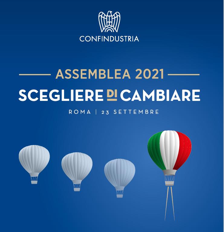 ASSEMBLEA DI CONFINDUSTRIA 23 SETTEMBRE 2021 – RELAZIONE DEL PRESIDENTE CARLO BONOMI